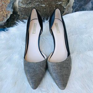 Cole Haan black and white pointy toe pumps SZ 10.5